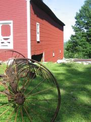 Tool Barn at Sabbathay Lake Shaker Village